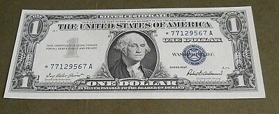 1957 $1  STAR  Choice UNC.