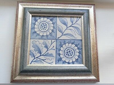 William Morris Longden tile blue and white