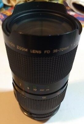 Canon Zoom Lens FD 35-70mm f2.8-3.5 with Case