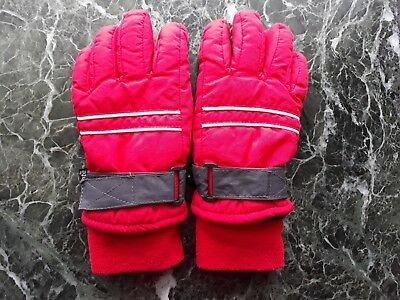 **Thinsulate** Fingerhandschuhe Gr. 5 rot