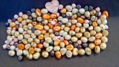 Freshwater Pearls Various Colours 4mm to 8mm 56g