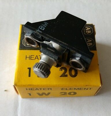 New Allen-Bradley W20 Thermal Overload Relay Heater Element **Made in the USA**