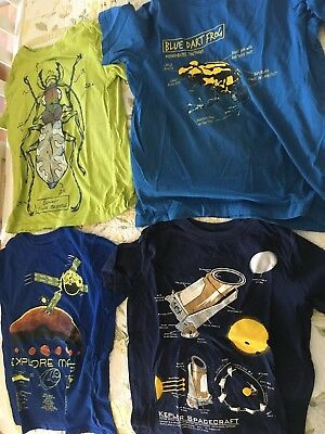 LANDS END t-shirts - big boy's small (size 8)