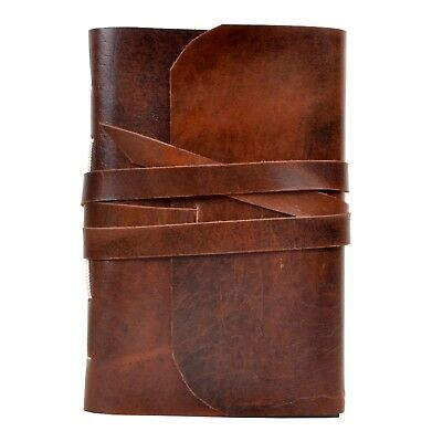 Genuine Handmade Leather Journal Antique Crazy Horse Leather Journal 5x7