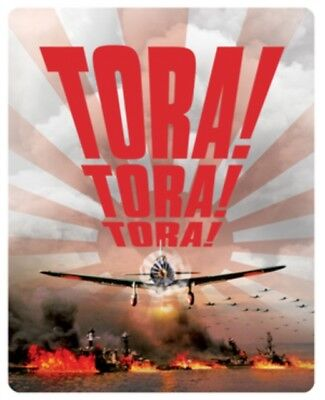 Tora Tora Tora Limited Edition Steelbook BLU-RAY- REGION FREE *NEW