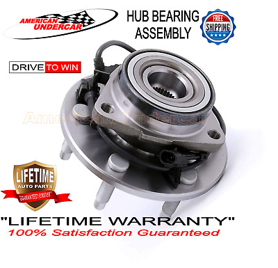 Wheel Bearing and Hub Assembly LIFETIME 515036 fits 6 LUG 99 - 13 Chevy GMC 4x4