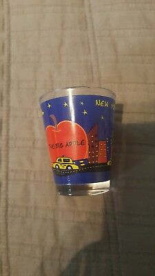 New York Shot Glass New The Big Apple