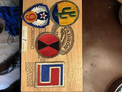 Us Wwii Patch Lot