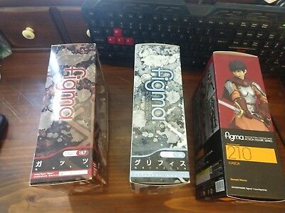 Figma Berserk Guts Band of the Hawk Griffith Casca COMPLETE MIB