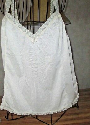 Cami in a beautiful ivory off white with lace lady's camisole