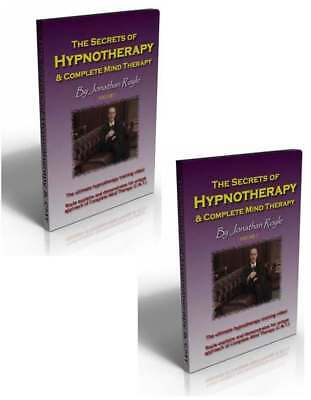 2 Hypnosis Suggestion Therapy & NLP DVD's Covering All Aspects Of Hypnotherapy