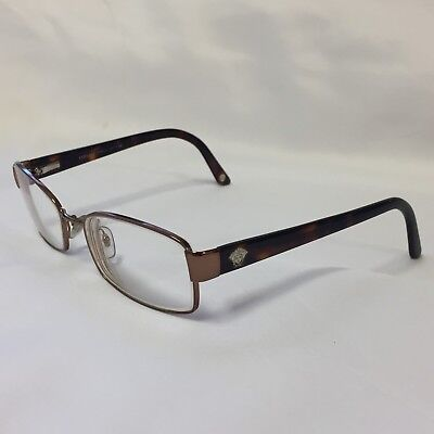 VERSACE Eyeglasses Italy MOD.1177 1045 52-16-135 Tortoise Made in Italy