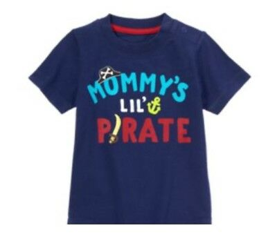 NWT Gymboree Stripes & Anchor Mommy's Little Pirate Sword Tee Boy 3T 4T 5T