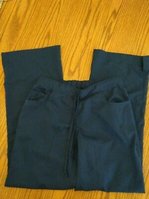 Greys anatomy scrub pants xs!! Navy blue/EUC!!