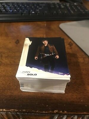 2018 Topps Solo A Star Wars Story Base Set 1-100