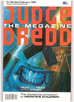 Judge Dredd Megazine (1990-1992 Monthly Series) #5 FN- (5.5)