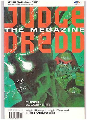 Judge Dredd Megazine (1990-1992 Monthly Series) #6 FN- (5.5)