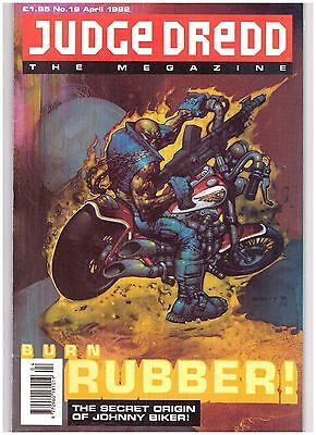 Judge Dredd Megazine (1990-1992 Monthly Series) #19 VF- (7.5)