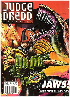 Judge Dredd Megazine #62 VF- (7.5) 1994