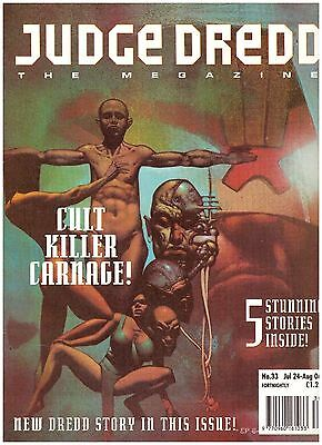 Judge Dredd Megazine #33 VF- (7.5) 1993