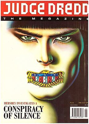 Judge Dredd Megazine #15 VF- (7.5) 1992