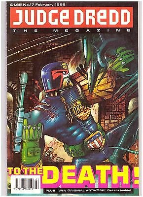 Judge Dredd Megazine (1990-1992 Monthly Series) #17 VF- (7.5)
