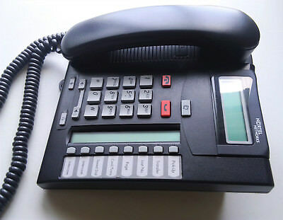 Nortel Networks T7208 Business Telephone Charcoal