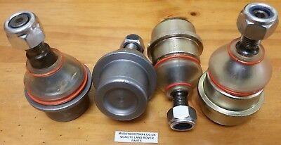 Range Rover P38 2X upper and 2X  lower ball joints FTC3570 & FTC3571