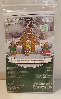 Ginger Bread Candy Shop- Sherwood Creations Inc -Dwg.# 1072