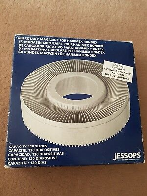 Colour Slide Rotary Magazine To Hanimex Rondex Projector,take 120 Slides Jessops