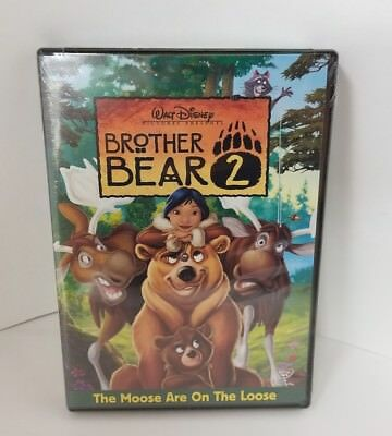 Brother Bear 2 DVD 2006 Walt Disney Moose on the Loose NEW Sealed FREE SHIPPING