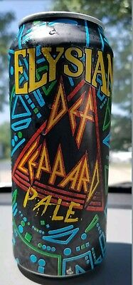 Elysian Brewing Company Def Leppard Beer / Pale 16Oz Pull Tab Can Brand New