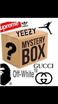 Mysterious HYPEBEAST Box Yeezy / Jordan / Supreme / Off-White (See Details)