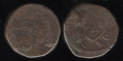 British India Copper One pice EIC 1810 Bombay presidency #197 RARE