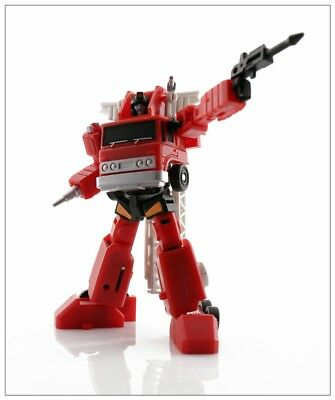 New MS-TOYS MS-B02 Robot Action Figure Fire Extinguisher mini Inferno instock