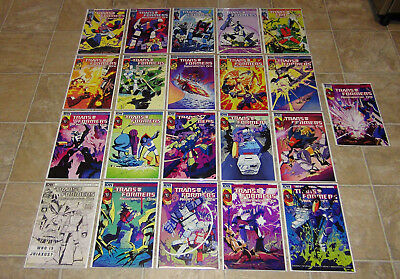 IDW Transformers Regeneration One RI Cover FULL SET 81-100 + 0 Guido Covers