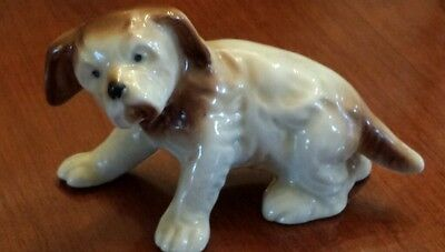 Vintage Japanese Porcelain Chin Dog Figurine, #19