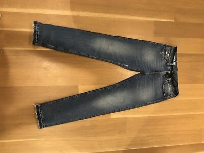 Off-White Diags Window Skinny 5-Pocket Denim Pant