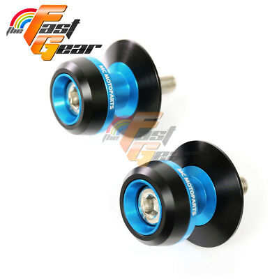 Twall Protector Blue Swingarm Spools Sliders Fit Kawasaki Z750R 2001-2015