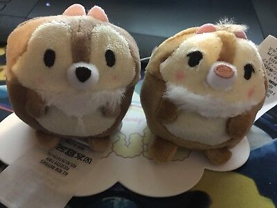 Disney Chip And Dale Puffy Tsum Tsum
