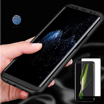 Samsung Galaxy Note 8 S8 S8P Ultra Thin 360 Full Body Shockproof Hard Case Cover