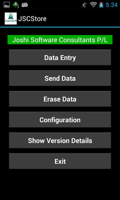 JSCStore Software for IGA Store for MC32N0/MC40/TC55 Android MobileComputer