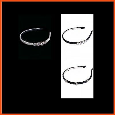6 x ASSORTED DIAMANTE HEADBANDS Accessories Elegant Style Hairstyles Bridal Hair