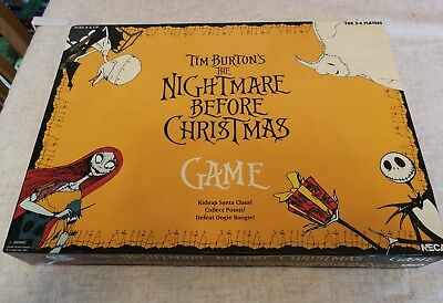 The Nightmare Before Christmas board game