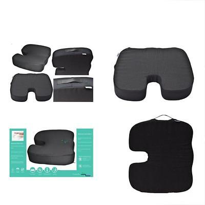 4 Inches Thick Coccyx Orthopedic Pressure Memory Foam Seat Chair Car Pad Cushion