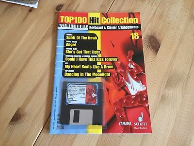 Yamaha Top100 Hit Collection Midifiles Mit Diskette