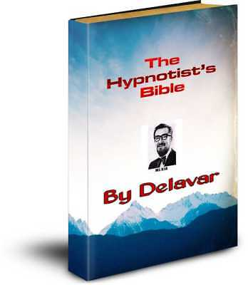 Delavars - The Hypnotists Bible - Two Volumes Hypnotherapy & Stage Hypnosis