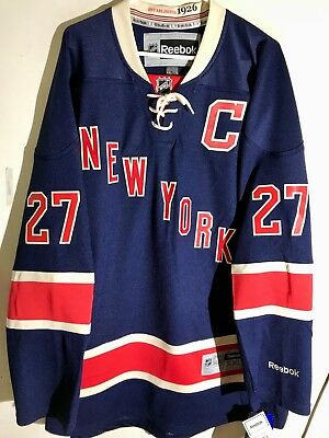 NHL New York Rangers Ryan McDonagh Premier Ice Hockey Shirt Jersey