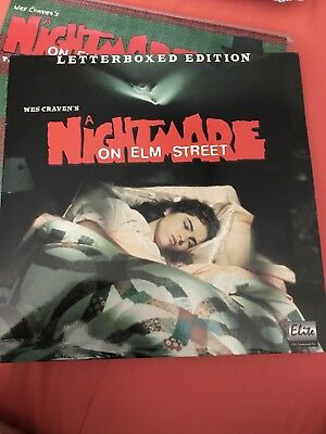 Nightmare On Elm Street Letterboxed Edition
