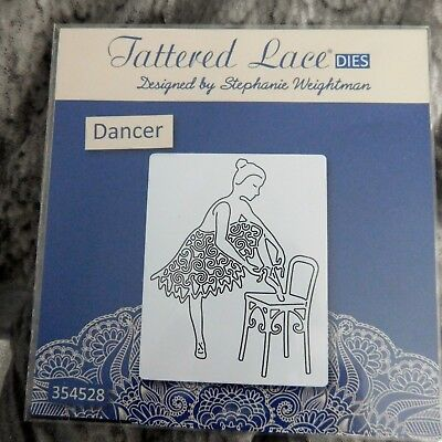 STUNNING - DANCER DIE D990 Tattered Lace Stephanie Weightman